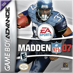 Madden 07 Video Game For Nintendo GBA