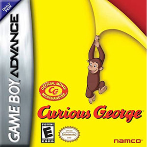 Curious George Video Game For Nintendo GBA