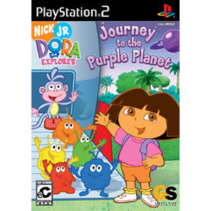 Journey to the Purple Planet, Dora the Explorer Video Game For Sony PS2
