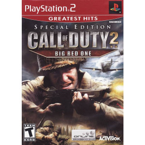 Call of Duty 2 Big Red One Special Edition Video Game For Sony PS2