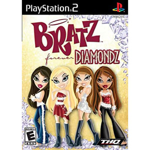 Bratz Forever Diamondz Video Game For Sony PS2