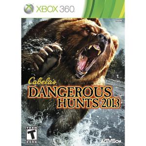 Cabela's Dangerous Hunts 2013 Video Game For Microsoft Xbox 360