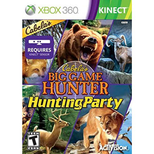 Cabela's Big Game Hunter Hunting Party Video Game For Microsoft Xbox 360