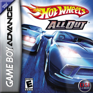 Hot Wheels All Out Video Game For Nintendo GBA