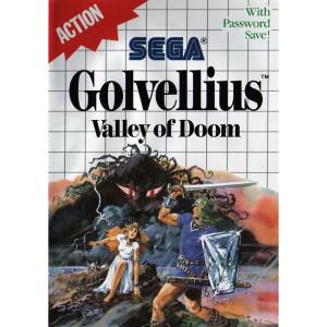 Golvellius Video Game For Sega Master System