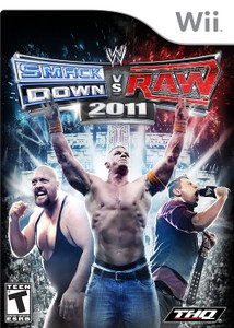 WWE Smackdown vs Raw 2011 Video Game For Nintendo Wii