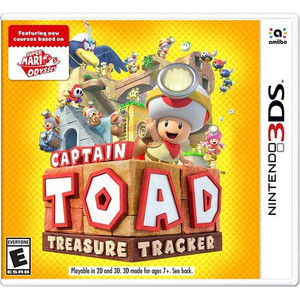 Captain Toad Treasure Tracker Video Game For Nintendo 3DS