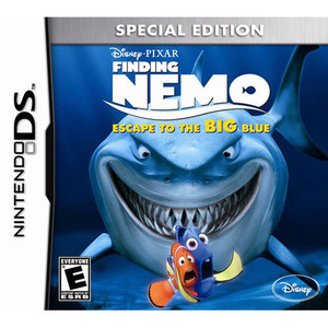 Finding Nemo Escape to the BIG Blue Special Edition Video Game For Nintendo DS