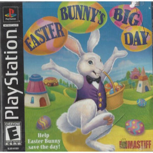 Easter Bunny's Big Day Video Game Sony PS1