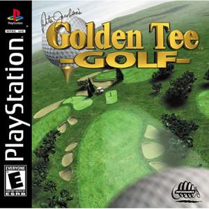 Peter Jacobsen's Golden Tee Golf Video Game For Sony PS1
