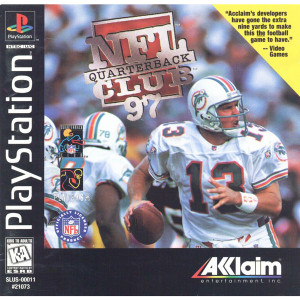 NFL Quarterback Club 97 Video Game For Sony PS1