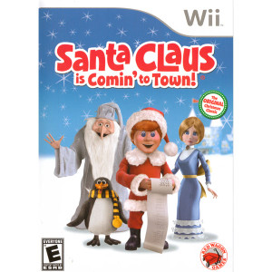 Santa Claus is Comin' to Town Video Game For Nintendo Wii