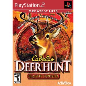Cabela's Deer Hunt Season Opener Video Game For Sony PS2