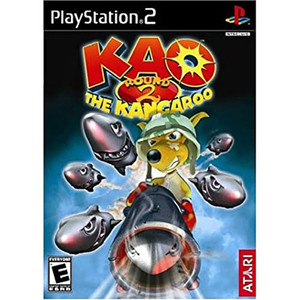 Kao The Kangaroo Round 2 Video Game For Sony PS2