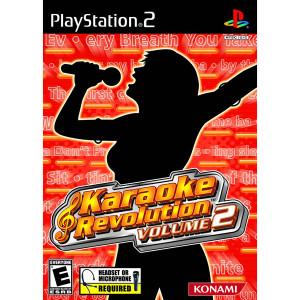 Karaoke Revolution Volume 2 Video Game For Sony PS2