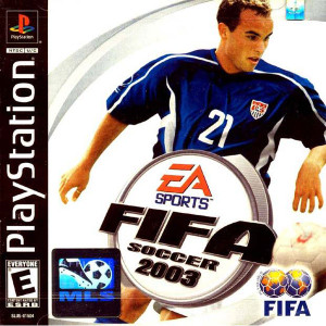 Fifa Soccer 2003 Video Game For Sony PS1