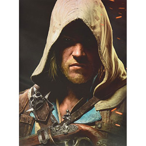 Assassin's Creed IV Black Official Game Guide Collector's Edition Piggyback For Microsoft Xbox 360 and Sony PS3