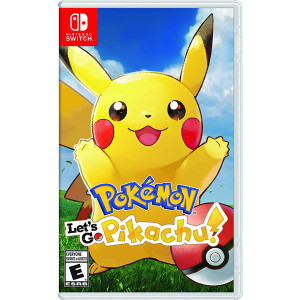 Pokemon Let's Go Pikachu! Video Game for Nintendo Switch