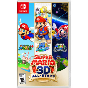 Super Mario 3D All Stars Video Game for Nintendo Switch