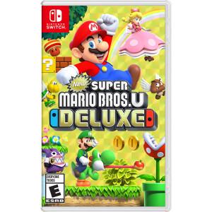 Super Mario Bros. U Deluxe Video Game for Nintendo Switch