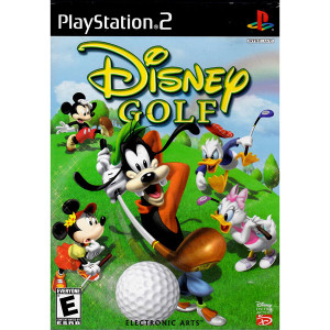 Disney Golf Video Game For Sony PS2