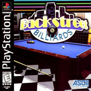 Backstreet Billiards Video Game For Sony PS1