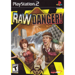 Raw Danger Video Game For Sony PS2
