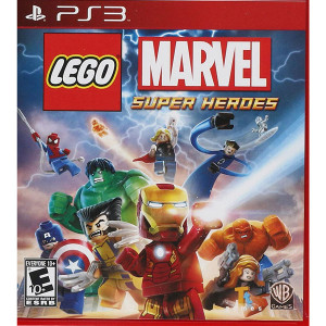 Lego Marvel Super Heroes Video Game For Sony PS3