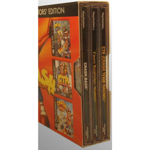 Complete Crash Bandicoot Collector's Edition Bundle For Sony PS1