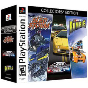 Complete Electronic Arts Collector's Edition Bundle For Sony PS1