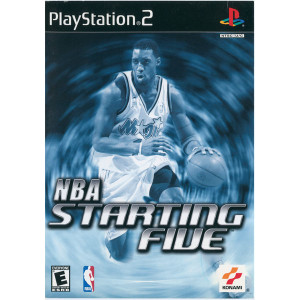 NBA Starting Five Video Game For Sony PS2
