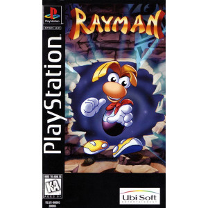 Rayman Long Box For Sony PS1