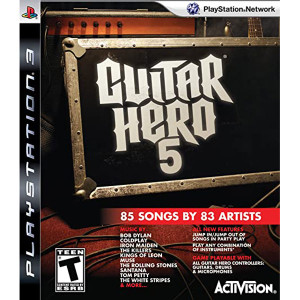 Guitar Hero 5 Video Game For Sony PS3