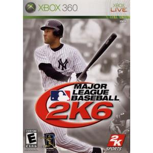 Major League Baseball 2k6 Video Game For Microsoft Xbox 360