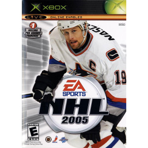 NHL 2005 Video Game For Microsoft Xbox