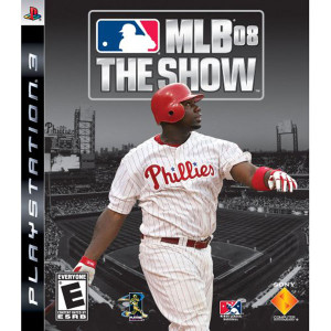 MLB 08 The Show Video Game For Sony PS3