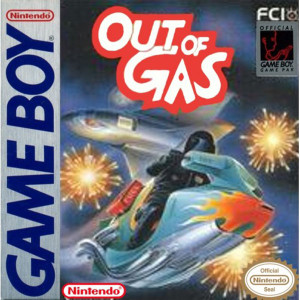 Out of Gas Video Game For Nintendo GameBoy