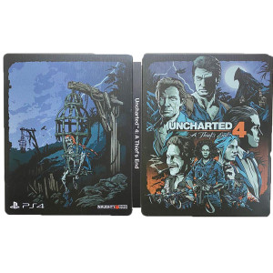 Uncharted 4 A Thief's End Steelbook For Sony PS4