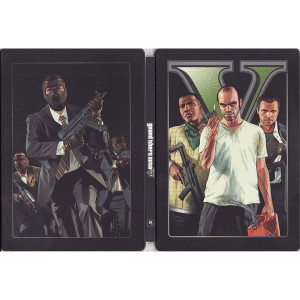 Grand Theft Auto V Steelbook For Sony PS3
