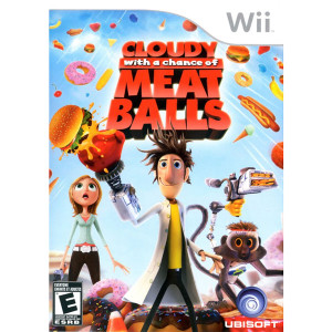 Cloudy with a Chance of Meatballs Video Game For Nintendo Wii