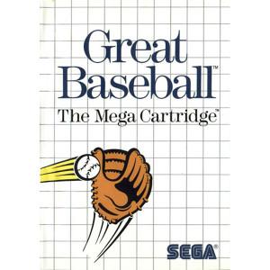 Great Baseball Video Game For Sega Master System