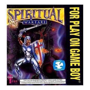 Spiritual Warfare Video Game For Nintendo GameBoy