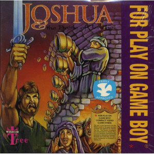 Joshua The Battle of Jericho Video Game For Nintendo GameBoy