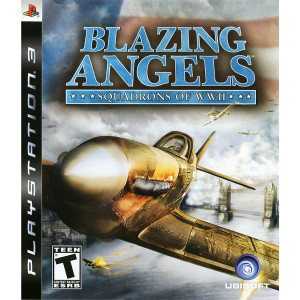 Blazing Angels Squadrons of WWII Video Game For Sony PS3