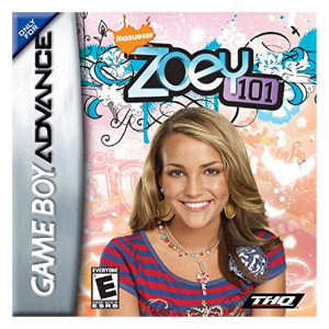 Zoey 101 Video Game For Nintendo GBA