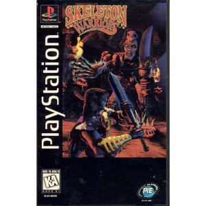 Skeleton Warriors Long Box For Sony PS1