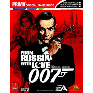 From Russia With Love 007 GameCube, PS2, Xbox - Prima Official Game Guide