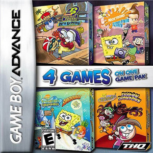 Nicktoons Pack Video Game For Nintendo GBA