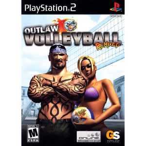 Outlaw Volleyball Remixed Video Game For Sony PS2