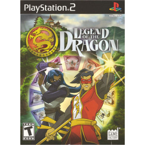Legend of the Dragon Video Game For Sony PS2